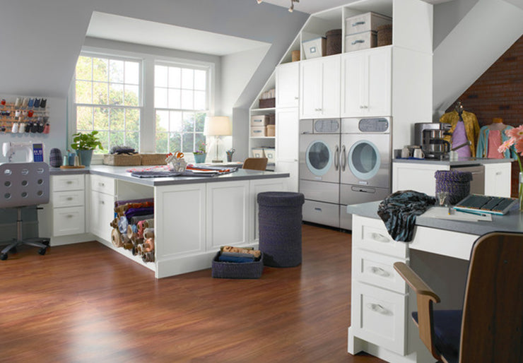 Laundry Rooms by KraftMaid® Cabinetry