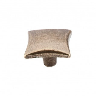 Chateau Square Knob German Bronze