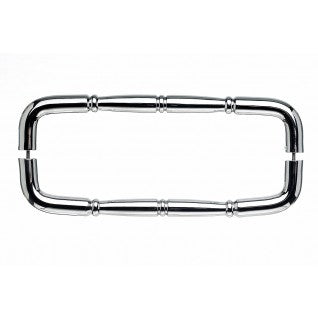 Nouveau Ring Door Pull Polished Chrome
