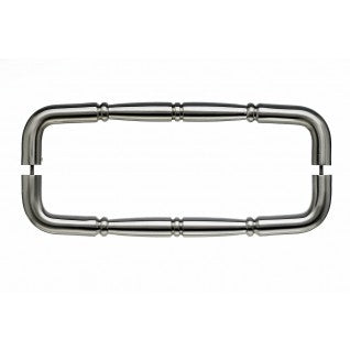 Nouveau Ring Door Pull Brushed Satin Nickel