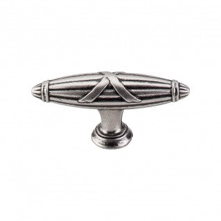 Ribbon & Reed T-Pull Pewter Antique