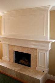 Paint-Grade Mantel