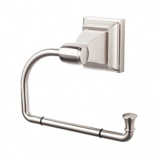 Stratton Bath Tissue Hook Brushed Satin Nickel