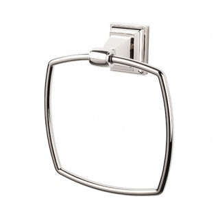 Stratton Bath Ring Polished Nickel