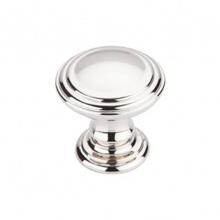 Reeded Knob Polished Nickel