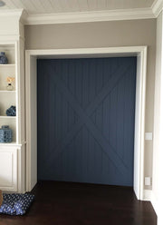 Barn Door - Custom Blue Nautical