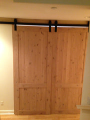 Barn Door - Natural Wood