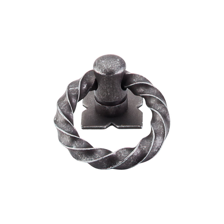Twist Ring Pewter
