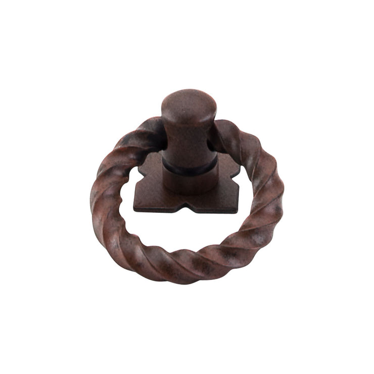 Twist Ring Patina Rouge