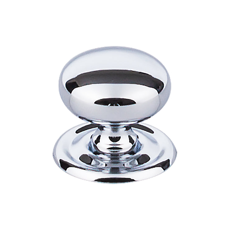 Victoria Knob Polished Chrome