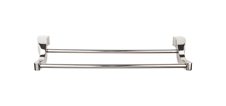Aqua Bath Towel Bar Polished Nickel