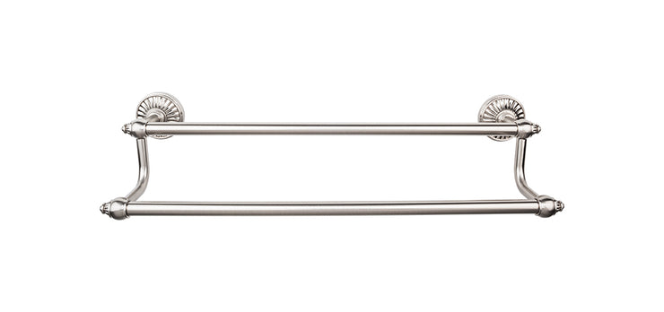 Tuscany Bath Towel Bar Brushed Satin Nickel