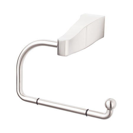 Aqua Bath Tissue Hook Brushed Satin Nickel