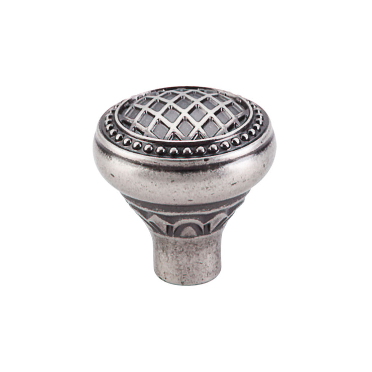 Trevi Round Knob Pewter Antique
