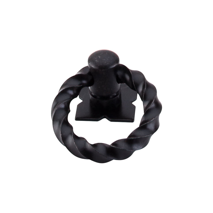 Twist Ring Patina Black
