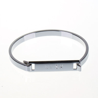 """Wish"" Clip Bangle"