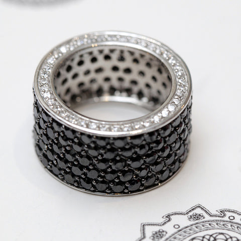 Thick Pave Band Ring