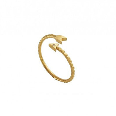 Alchemist Arrow Ring - Gold