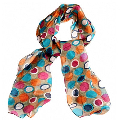 Gothenburg Silk Scarf