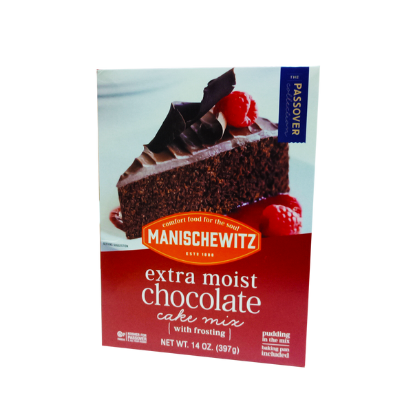 MANISCHEWITZ EXTRA MOIST CHOCOLATE - CAKE MIX