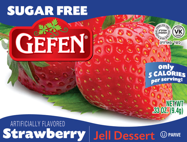 GEFEN - SUGAR FREE - STRAWBERRY