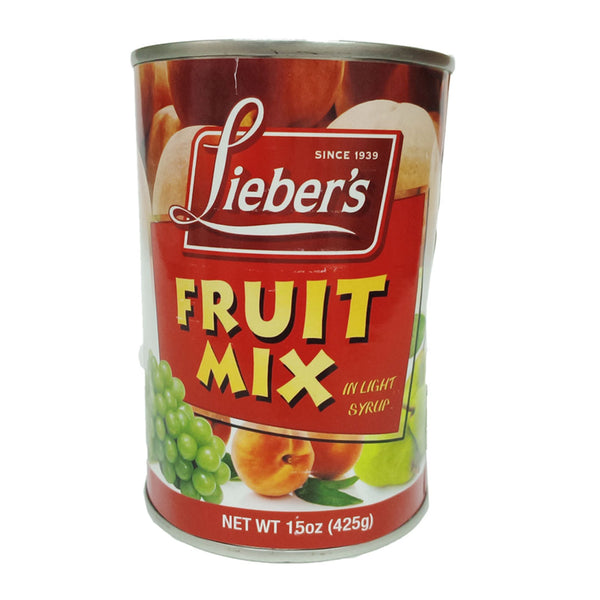LIEBERS - FRUIT MIX 425GRS - KOSHER LEPESAJ