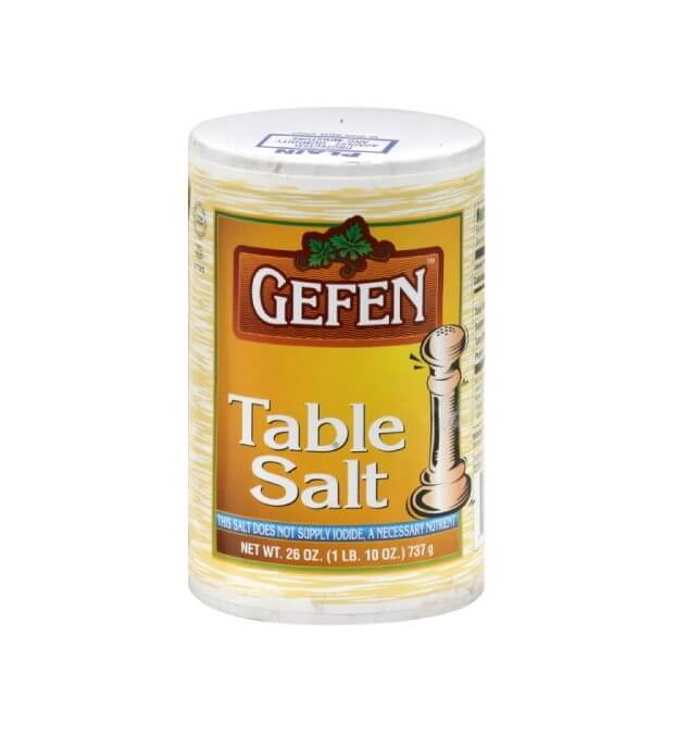 GEFEN - TABLE SALT - 1 LB - LE PESAJ