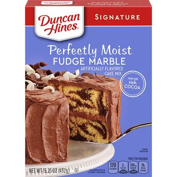 PERFECTLY MOIST FUDGE MARBLE - DUNCAN HINES