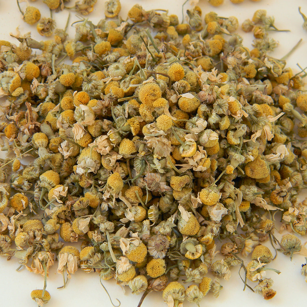 Photograph of Earthbound Arts organic chamomile tea