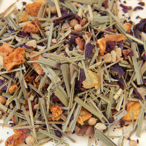 Photograph of Earthbound Arts herbal lemon ginger tea