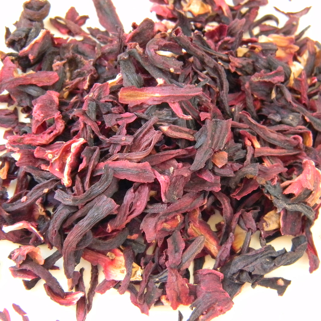 Photograph of Earthbound Arts hibiscus flower tea