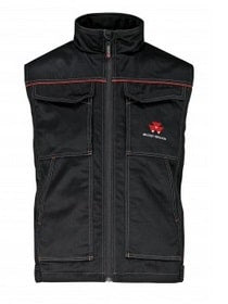 Massey Ferguson Black Waistcoat - X993050586 | Massey Parts | Martin's Garage