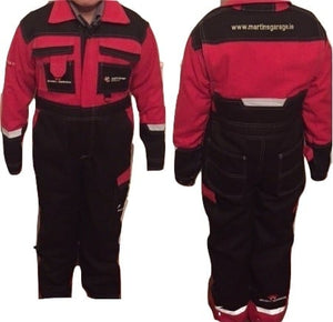 H/D Adult Red / Black Overall | Massey Parts | Martin's Garage
