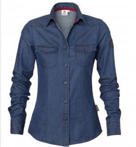 Massey Ferguson Ladies Denim Shirt | Massey Parts | Martin's Garage