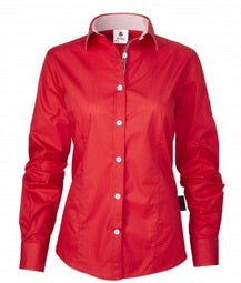 Massey Ferguson Ladies Red Shirt - X993321711 | Massey Parts | Martin's Garage