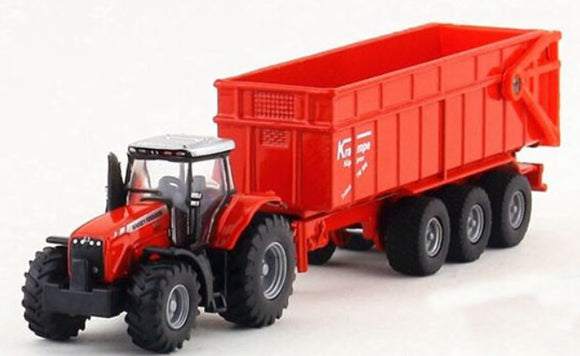 Siku Massey Ferguson 8680 With Tipping Trailer | Massey Parts | Martin's Garage