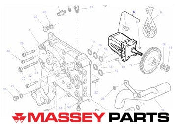 Massey Ferguson Hydraulic Pump | Massey Parts | Martin's Garage
