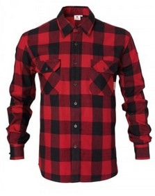 Mens Flannel Checked Shirt | Massey Parts | Martin's Garage