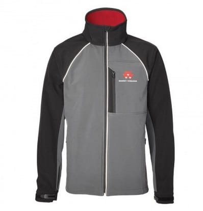 Massey Ferguson Men's Grey Softshell Jacket - X993311804 | Massey Parts | Martin's Garage