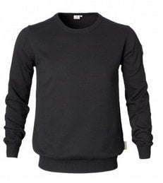Men's Black Jumper | Massey Parts | Martin's Garage