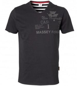 Massey Ferguson Mens Black T-Shirt - X993080151 | Massey Parts | Martin's Garage