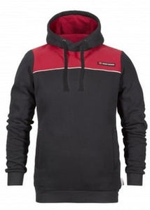 Red Black Hoodie | Massey Parts | Martin's Garage