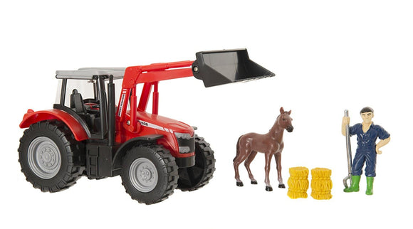 MF 8600 Tractor Playset with Animal | Massey Parts | Martin's Garage