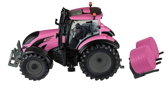Britains Valtra Pink T254 Tractor Playset | Massey Parts | Martin's Garage