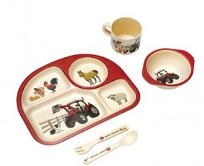 Massey Ferguson Kids Dinner Set | Massey Parts | Martin's Garage