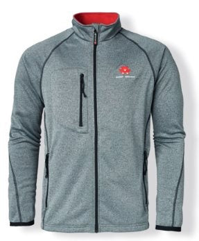 Massey Ferguson Mens Light Grey Fleece - X993051913 | Massey Parts | Martin's Garage