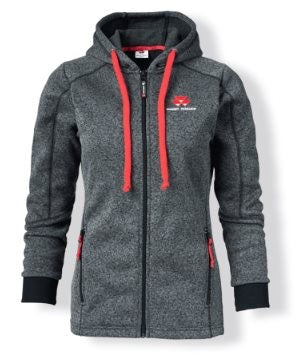 Massey Ferguson Ladies Grey Hoodie - X993051915 | Massey Parts | Martin's Garage