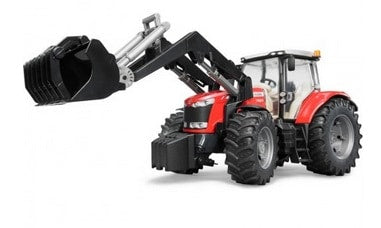 MF 7624 with Front Loader scale 1:16 | Massey Parts | Martin's Garage