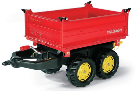 Rolly Mega Trailer Red | Massey Parts | Martin's Garage