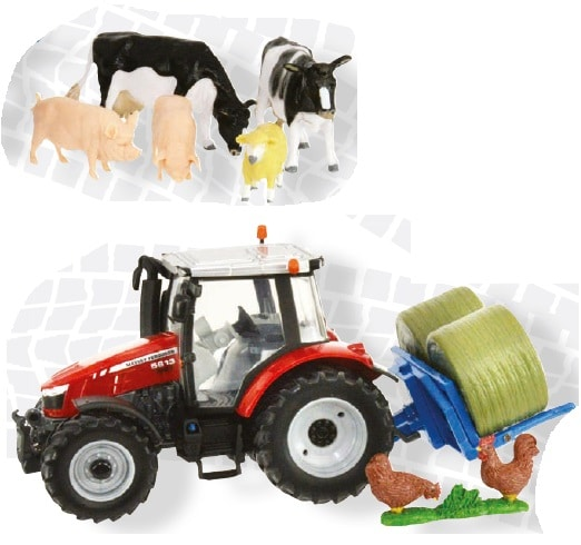 Britains Massey Ferguson 5612 Play Set | Massey Parts | Martin's Garage